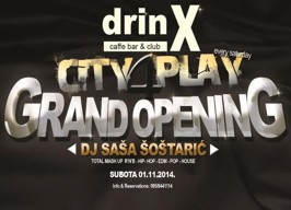 DrinX Zagreb - City 4Play: Grand Opening - 01.11.