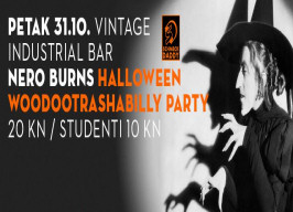 Vintage Industrial Bar - Woodootrashabilly party - 31.10.