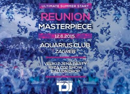 Aquarius Club Zagreb - Reunion Masterpiece - 12.06.