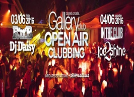 Gallery Club Zagreb - Open Air Clubbing - 03./04.06.