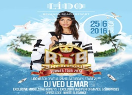 LIDO Bevanda Beach Resort - R'n'B Exclusive - 25.06.