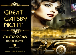 Hotela Royal Opatija - Great Gatsby Night - 01.07.